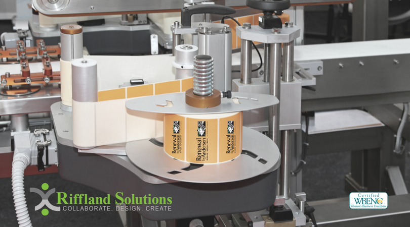 Riffland Solutions Custom Designed Labels