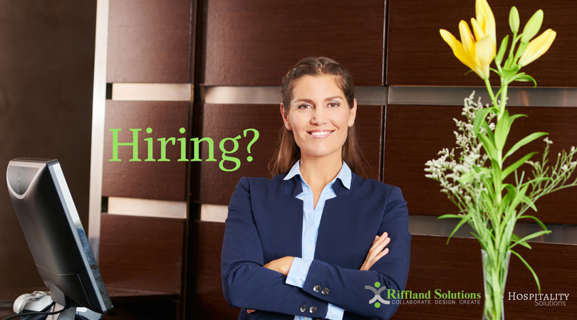 Riffland Solutions - Hospitality Hiring Event
