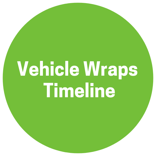 Button to Vehicle Wraps Timeline