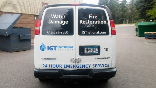 IGT National Restore, vehicle wrapsMaple Grove, MN