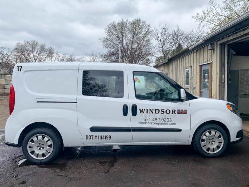 Vehicle Wrap<br>Windsor Companies<br>St. Paul, MN