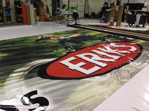 Erik's Bike Grand Format billboard printing.22 locations across MN, WI, IA, IL and KS