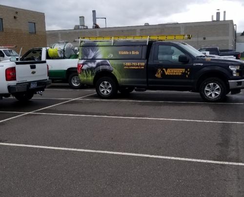 Varment Guard vehicle wrapColumbus, OH