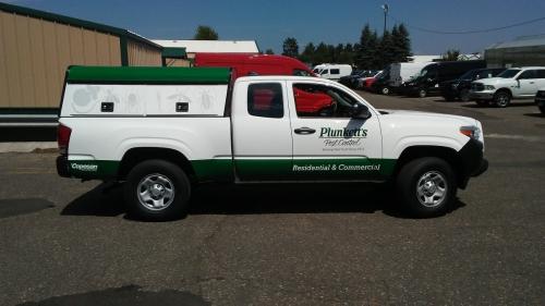 Plunkett's Pest Control fleet, vehicle wrapsEdina, MN
