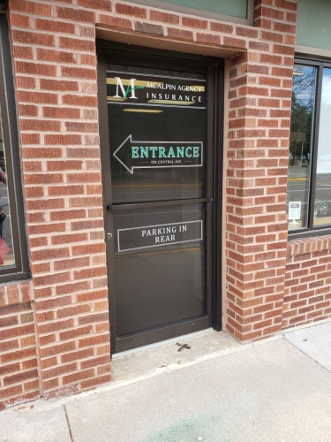 Window graphics and installation - Columbia Heights, MN
