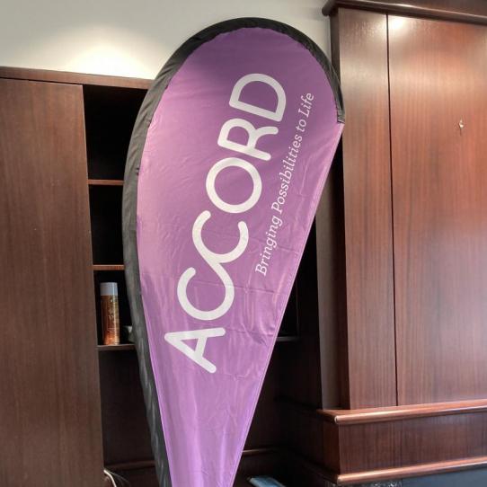 Teardrop Flag <br>Accord <br>St. Paul, MN