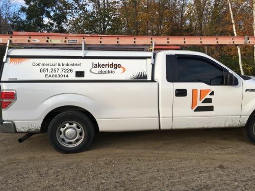 Lakeridge Electric vehicle wrapLindstrom, MN