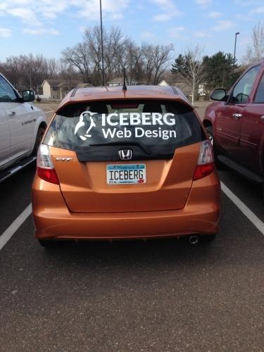 Iceberg Web Design window graphicMinneapolis, MN