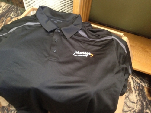Lakeridge Electric embroidered shirt - Lindstrom, MN