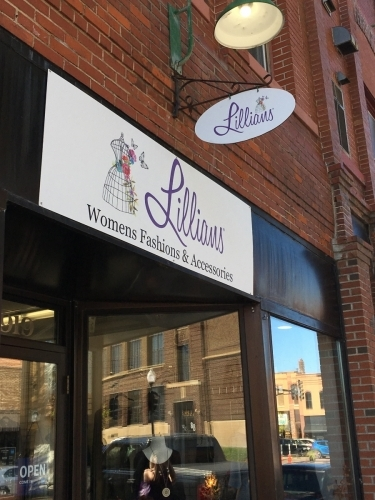 Lillian's-Women's Fashions & Accessories, Exterior & Building Signage Anoka, MN