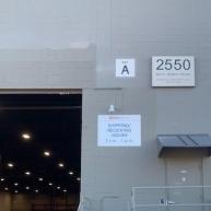 Warehouse Signage; Metro Transit; Roseville, MN