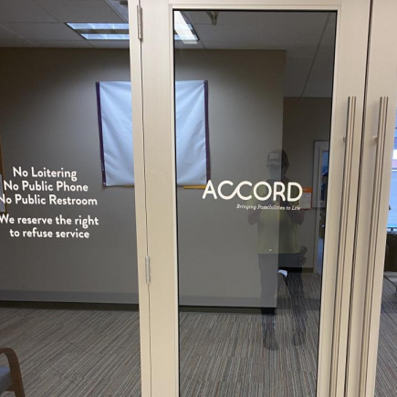 Office Signage<br>Accord<br>St. Paul, MN