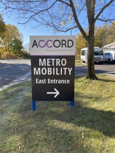 Outdoor Signage; Accord; St. Paul, MN