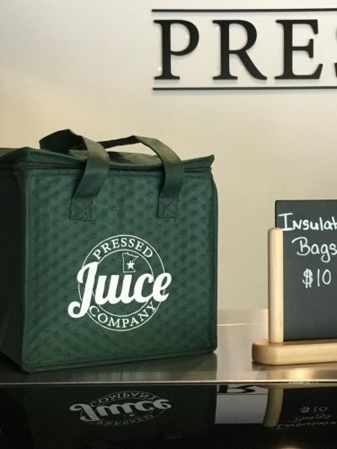 Pressed Juice Insulated Bag