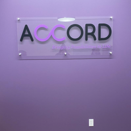 Office Signage; Accord;  St. Paul, MN