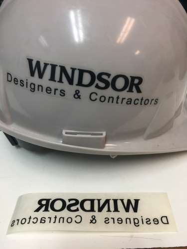 Windsor Companies; cut vinyl decals - St. Paul, MN