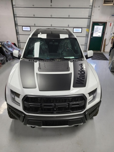 Waldoch; Ford Raptor Vehicle WrapForest Lake, MN