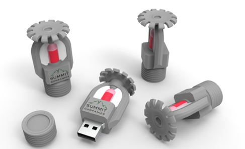 Summit Companies; USB drives - St. Paul, MN