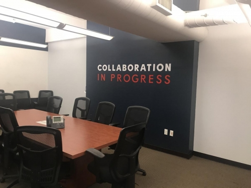 Wall Graphics; Collaboration in Progress for Infinity Consulting Solutions, Inc. New York, NY