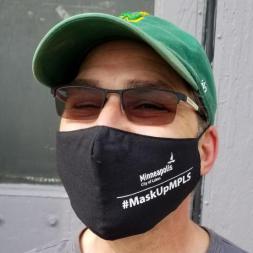 #MaskUpMPLS Branded Masks<br> City of Minneapolis<br> Minneapolis, MN